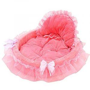 beautylife66 Panier Princesse pour Chien Coussin Lit de Chien Chat Souple Rose S de la marque beautylife66 image 0 produit