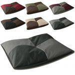 BedDog BONA 2en1, anthracite/gris, L env. 65x50 cm,Panier corbeille, lit pour chien, coussin de chien de la marque BedDog image 1 produit