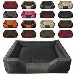 BedDog BRUNO, anthracite/gris, XXL env. 115x85 cm,Panier corbeille, lit pour chien, coussin de chien de la marque BedDog image 2 produit