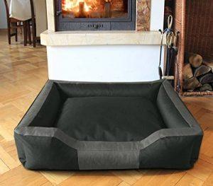 BedDog BRUNO, anthracite/gris, XXXL env. 150x120 cm,Panier corbeille, lit pour chien, coussin de chien de la marque BedDog image 0 produit