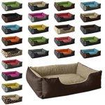 BedDog lit pour chien LUPI, brun/beige, XXL env. 115x85 cm,Panier corbeille, coussin de chien de la marque BedDog image 2 produit