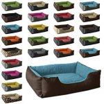 BedDog lit pour chien LUPI, brun/bleu, XL env. 85x70 cm,Panier corbeille, coussin de chien de la marque BedDog image 2 produit