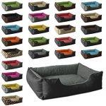 BedDog lit pour chien LUPI, noir/gris, XL env. 85x70 cm,Panier corbeille, coussin de chien de la marque BedDog image 0 produit