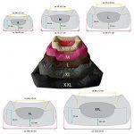 BedDog lit pour chien MIMI, gris/rose, XL env. 102x87 cm,Panier corbeille, coussin de chien de la marque BedDog image 1 produit