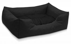 BedDog lit pour chien MIMI, noir, XL env. 102x87 cm,Panier corbeille, coussin de chien de la marque BedDog image 0 produit