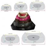 BedDog lit pour chien MIMI, noir, XL env. 102x87 cm,Panier corbeille, coussin de chien de la marque BedDog image 1 produit