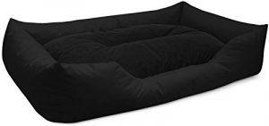 BedDog lit pour chien MIMI, noir, XXXL env. 155x115 cm,Panier corbeille, coussin de chien de la marque BedDog image 0 produit
