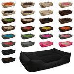 BedDog lit pour chien MIMI, noir, XXXL env. 155x115 cm,Panier corbeille, coussin de chien de la marque BedDog image 2 produit