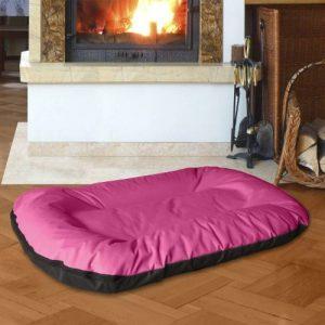 BedDog MASTI 2en1, Rose/Noir, XXL 95x65 cm,Panier corbeille, lit pour chien, coussin de chien de la marque BedDog image 0 produit