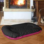 BedDog MASTI 2en1, Rose/Noir, XXL 95x65 cm,Panier corbeille, lit pour chien, coussin de chien de la marque BedDog image 1 produit