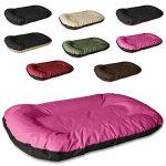 BedDog MASTI 2en1, Rose/Noir, XXL 95x65 cm,Panier corbeille, lit pour chien, coussin de chien de la marque BedDog image 3 produit