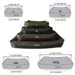 BedDog MAX, noir, XXXL env. 150x110 cm,Panier corbeille, lit pour chien, coussin de chien de la marque BedDog image 2 produit