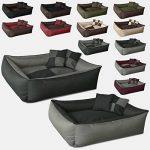 BedDog MAX QUATTRO 2en1, anthracite/gris, XL env.100x85 cm,Panier corbeille, lit pour chien, coussin de chien de la marque BedDog image 3 produit