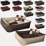 BedDog MAX QUATTRO 2en1, beige/brun, XXXL env. 150x110 cm,Panier corbeille, lit pour chien, coussin de chien de la marque BedDog image 3 produit