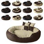 BedDog PRINS, Beige/Brun, XL 95x80 cm,Panier corbeille, lit pour chien, coussin de chien de la marque BedDog image 2 produit