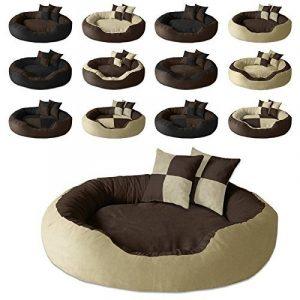 BedDog PRINS, Brun/Beige, XL 95x80 cm,Panier corbeille, lit pour chien, coussin de chien de la marque BedDog image 2 produit