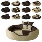BedDog PRINS, Brun/Beige, XXL 120x95 cm,Panier corbeille, lit pour chien, coussin de chien de la marque BedDog image 2 produit