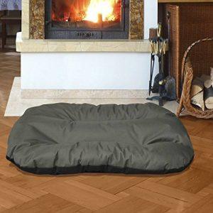BedDog REX 2en1, Anthracite/Gris, XXL 95x65 cm,Panier corbeille, lit pour chien, coussin de chien de la marque BedDog image 0 produit