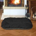 BedDog REX 2en1, Anthracite/Gris, XXL 95x65 cm,Panier corbeille, lit pour chien, coussin de chien de la marque BedDog image 1 produit