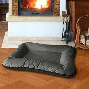 BedDog VERA 2en1, Anthracite/Gris, XL 100x70 cm, 7 couleurs au choix, Panier corbeille, lit pour chien, coussin de chien de la marque BedDog image 0 produit