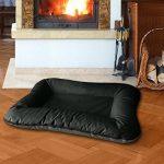 BedDog VERA 2en1, Anthracite/Gris, XL 100x70 cm, 7 couleurs au choix, Panier corbeille, lit pour chien, coussin de chien de la marque BedDog image 1 produit