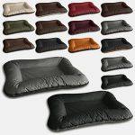 BedDog VERA 2en1, Anthracite/Gris, XXL 120x90 cm, 7 couleurs au choix, Panier corbeille, lit pour chien, coussin de chien de la marque BedDog image 3 produit