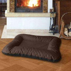 BedDog VERA 2en1, Noir/Brun, XXXL 135x120 cm, 7 couleurs au choix, Panier corbeille, lit pour chien, coussin de chien de la marque BedDog image 0 produit