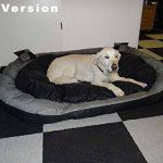 Big Tier Sofa – également lit pour chien XXL – panier pour chien douillet et lavable Big Tier Sofa – Taille XL 150 x 120 x 25 cm de la marque Hossi's Wholesale image 4 produit