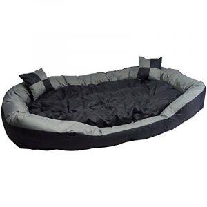 Big Tier Sofa – également lit pour chien XXL – panier pour chien douillet et lavable Big Tier Sofa – Taille XL 150 x 120 x 25 cm de la marque Hossi's Wholesale image 0 produit