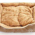 Bunny Business Grand panier pour chien en cuir et polaire taille XL 107 cm de la marque BUNNY BUSINESS image 3 produit