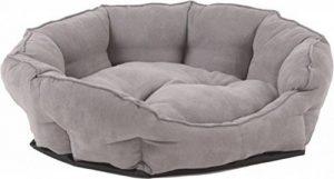 Canapé pour chien lit pour chien S, M, L ultra douce, gris, différentes tailles de la marque animal-design image 0 produit