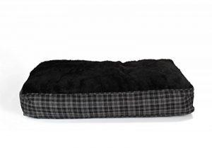 Coussin pour chien XL ultra-épais, 100x70 cm, gris / noir, panier pour chien, matelas pour animal domestique de la marque SAUERLAND image 0 produit