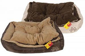 Dog - 38848 - Panier de Animal - Mesure M - 75 x 58 x 19 cm - 2 Assortiments de Beige / Brown de la marque Dog image 0 produit