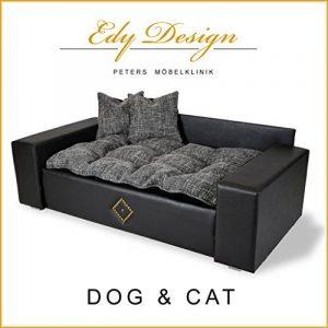 Edy Design Panier en similicuir en forme de canapé pour chien et chat TailleXXL de la marque Edy Design image 0 produit