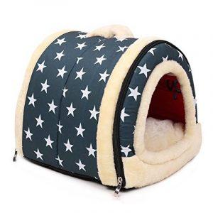 Enko Luxury Cozy 2-in-1 Pet House et Canapé, De Haute Qualité Intérieur et Extérieur Portable Foldable Dog Room / Lit Pour Chat. Donnez à Votre Animal un Maison Confortable.( image 0 produit