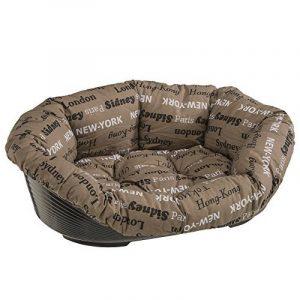 Ferplast 70226999ZP Sofa 6 Panier pour chien/chat en plastique avec housse en coton matelassé amovible: 55 x 34 cm de la marque Ferplast image 0 produit