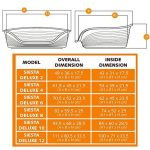 Ferplast Lit en Plastique pour Chiens/Chats Siesta Deluxe 4 - Taupe de la marque Ferplast image 4 produit