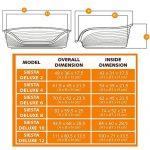 Ferplast Siesta Deluxe 10 Marron Lit en Plastique pour Chiens/Chats de la marque Ferplast image 4 produit