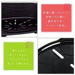 Ferplast Siesta Deluxe 12 Noir Lit en Plastique pour Chiens/Chats de la marque Ferplast image 2 produit
