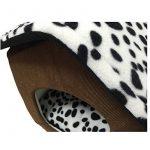 JYSPORT Pet House Haut de Gamme Marron café Nid chaud pour chien chat lit de la marque JYSPORT image 3 produit