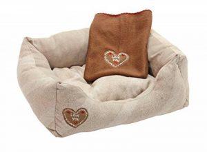 Kerbl Chien et Chat Lit Douillet Love You 47x37 cm Beige de la marque Kerbl image 0 produit