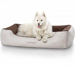 Knuffelwuff Câlin Lit pour chien Lina - taille M-L 85 x 63cm - brun de la marque Knuffelwuff image 0 produit
