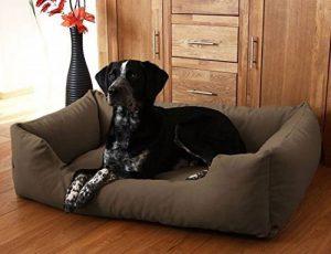 Knuffelwuff Lit pour chien Dreamline M - L 85cm x 63cm Marron de la marque Knuffelwuff image 0 produit