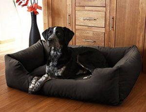 Knuffelwuff Lit pour chien Dreamline XXL 120cm x 85cm Noir de la marque Knuffelwuff image 0 produit