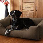 Knuffelwuff Lit pour chien Dreamline XXL 120cm x 85cm Noir de la marque Knuffelwuff image 1 produit
