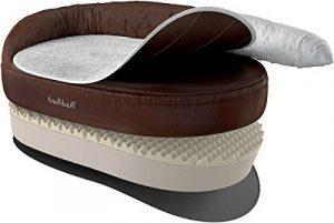 Knuffelwuff lit pour chien orthopédique Jessy S-M 73 x 50cm beige de la marque Knuffelwuff image 0 produit