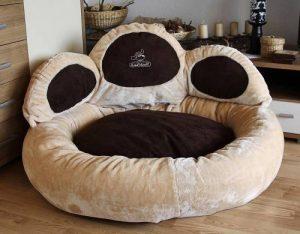 Knuffelwuff Luena - Le matelas pour chien patte S-M 80cm - beige - super moelleux de la marque Knuffelwuff image 0 produit