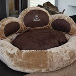 Knuffelwuff Luena - Le matelas pour chien patte S-M 80cm - beige - super moelleux de la marque Knuffelwuff image 1 produit
