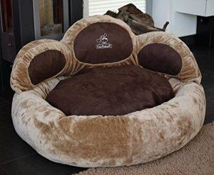 Knuffelwuff Luena – Le matelas pour chien patte XL 95cm - brun - super moelleux de la marque Knuffelwuff image 0 produit
