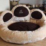 Knuffelwuff Luena – Le matelas pour chien patte XL 95cm - brun - super moelleux de la marque Knuffelwuff image 1 produit